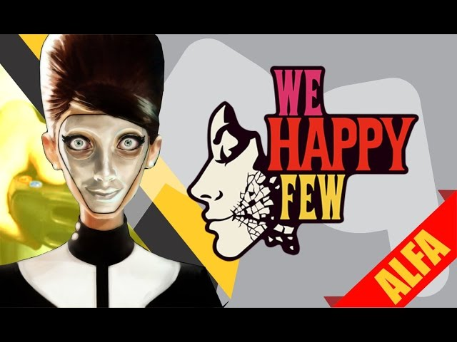 We Happy Few - (Alpha) O horror da felicidade