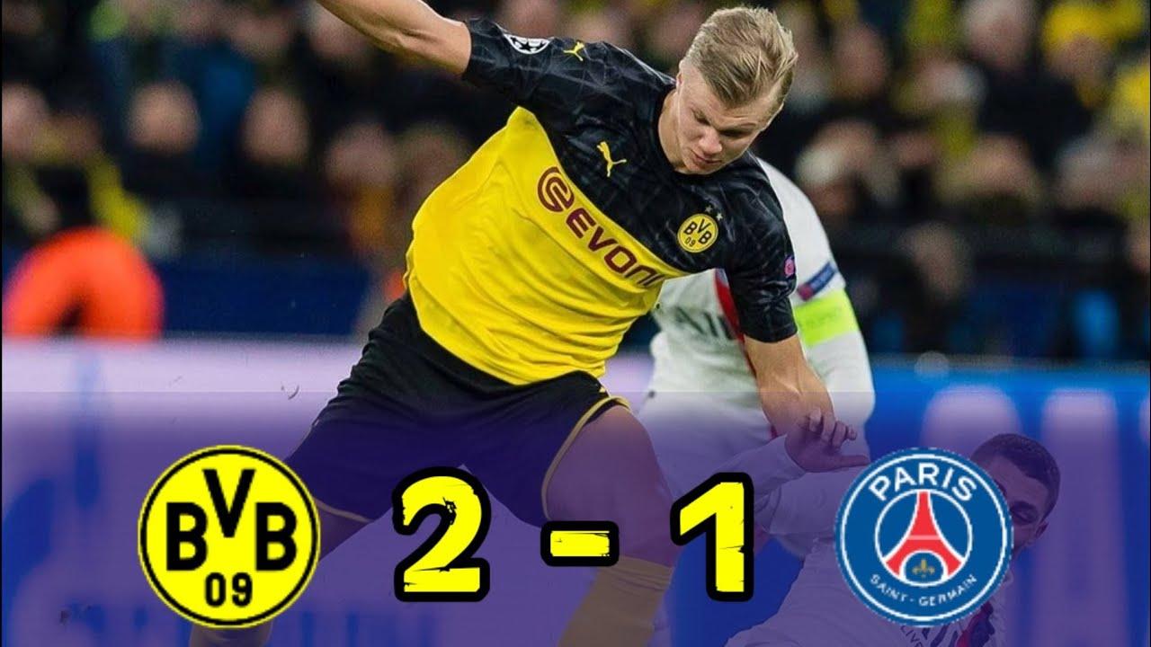 Hasil Liga Champions Tadi Malam : Borussia Dortmund (2) VS ...