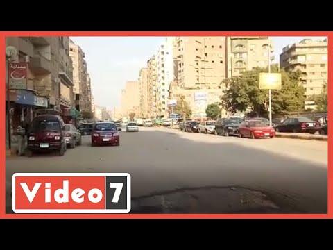 الهدوء والسيولة المرورية فى الهرم يكذب مظاهرات الإخوان الفشنك