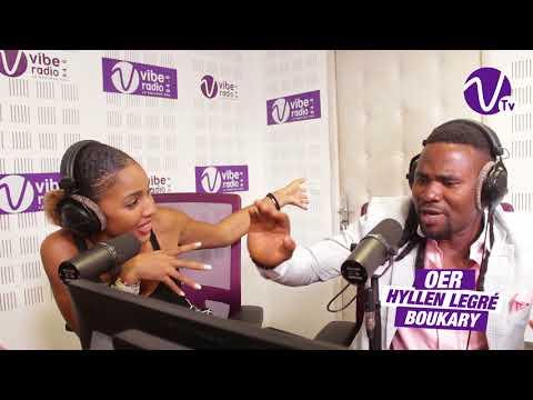 HYLLEN LEGRE sur Vibe Radio Côte d'Ivoire 1