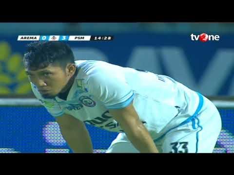 Highlights Arema FC vs PSM Makassar [3-3] Gojek Traveloka Liga 1