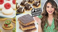 4 EASY Recipes Using RITZ CRACKERS!