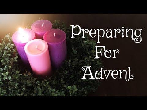 PREPARING FOR ADVENT/CHRISTMAS