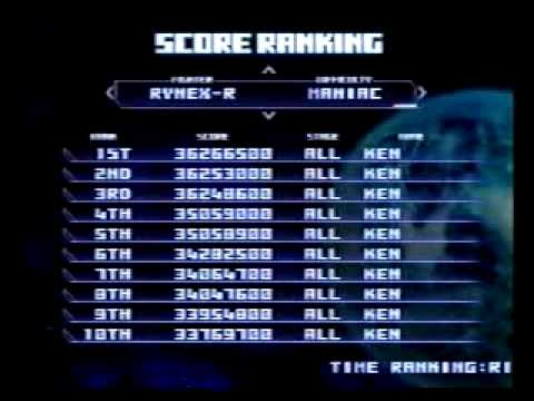 Thunder Force VI:Legendary Wings ~CONTACT~  SCORE RANKING