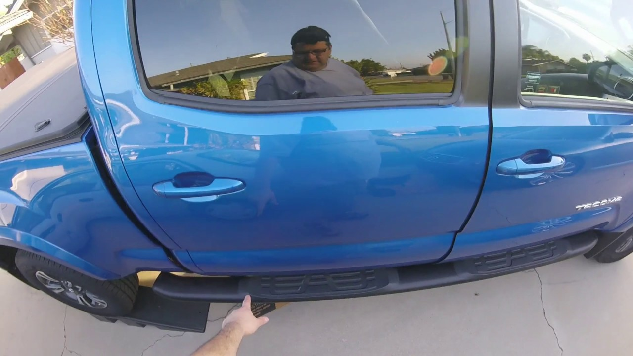 hight resolution of how to install a power tailgate lock on 17 tacoma from pop n lock