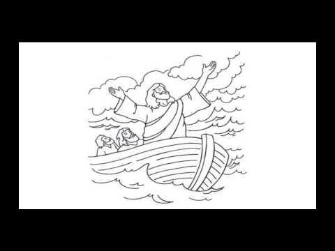 Storm op zee - Paasviering 2014