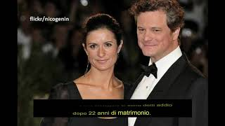 Hollywood Los Angeles: Colin Firth, matrimonio finito