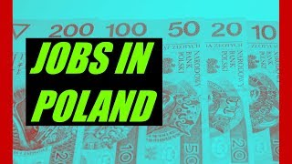Jobs In Poland | STUDENT JOBS | Part Time jobs | LIVE IN POLAND