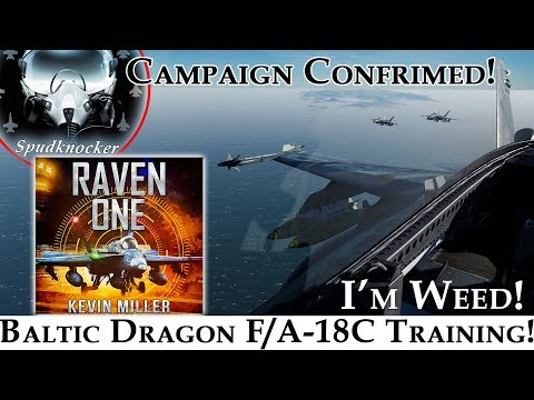 Raven One DCS Campaign Confirmed! | Baltic Dragon F/A-18C Hornet Training Part 2!