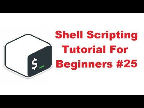Shell Scripting Tutorial - YouTube