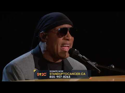 Stevie Wonder -  Stand Up To Cancer Performance 2018 Mp3