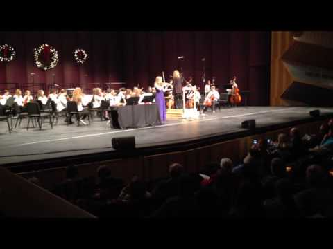 "Julianna Waller performs ""Celtica"" by Brian Balmages with the Barren County Middle School Orchestra"