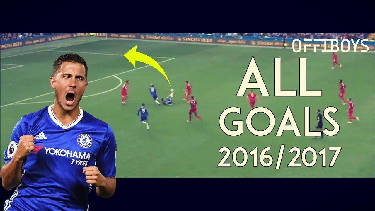 Download Eden Hazard - All Goals for Chelsea - 2016/17 | HD