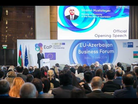 Official Opening EU Azerbaijan Business Forum 2019