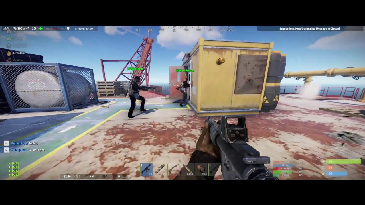 Oil Rig the AFK way