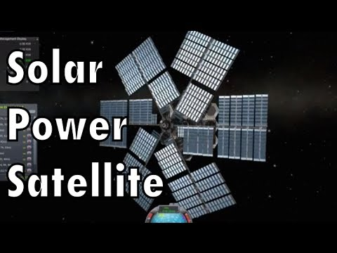 Space-based solar power