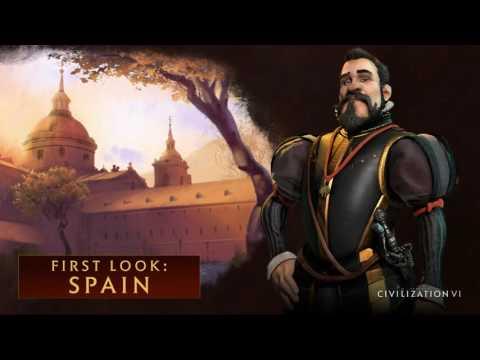 Civ 6 Spain Philip II Theme music Full