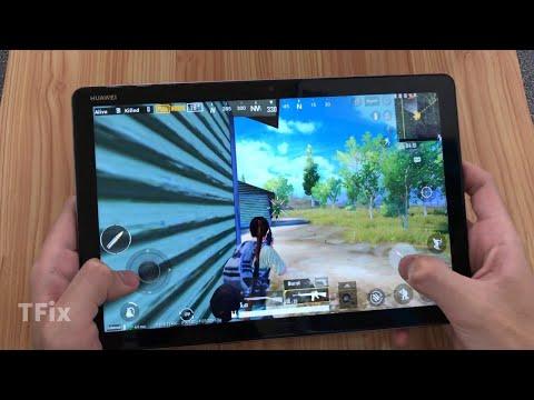 Huawei MediaPad M5 Lite Test Game PUBG Mobile || Kirin 659 Ram 4GB Rom 64GB