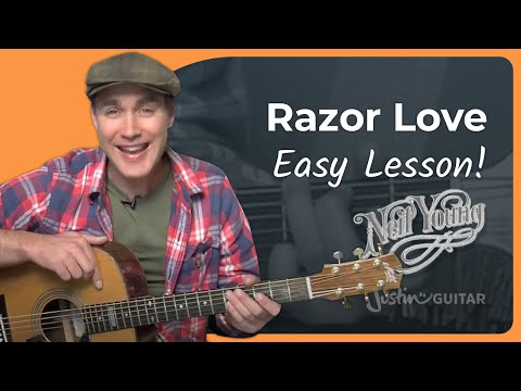 How to play Razor Love by Neil Young (Acoustic Guitar Lesson ST-906)