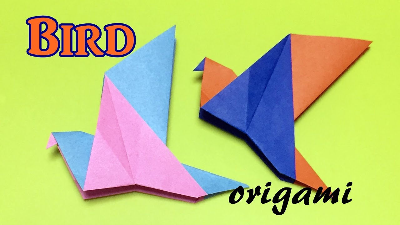 Origami Bird Easy For Kids