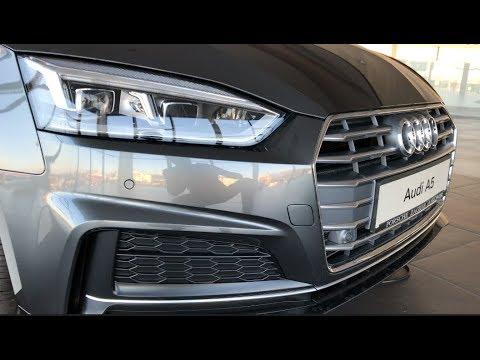 Audi A5 Coupé S-line 2018 in 4K 🦈