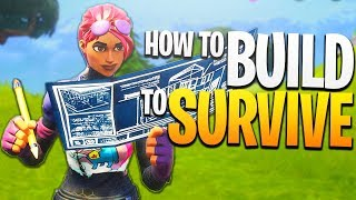 How to BUILD to SURVIVE! - PS4 Fortnite Solos Gameplay