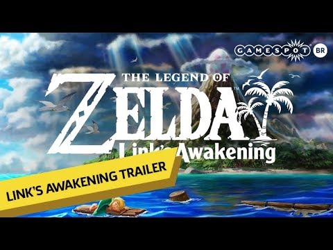 The Legend Of Zelda Link S Awakening Trailer De Anuncio Gamespot Brasil