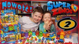 Super Zings 50 najnowszych figurek (Seria 2)