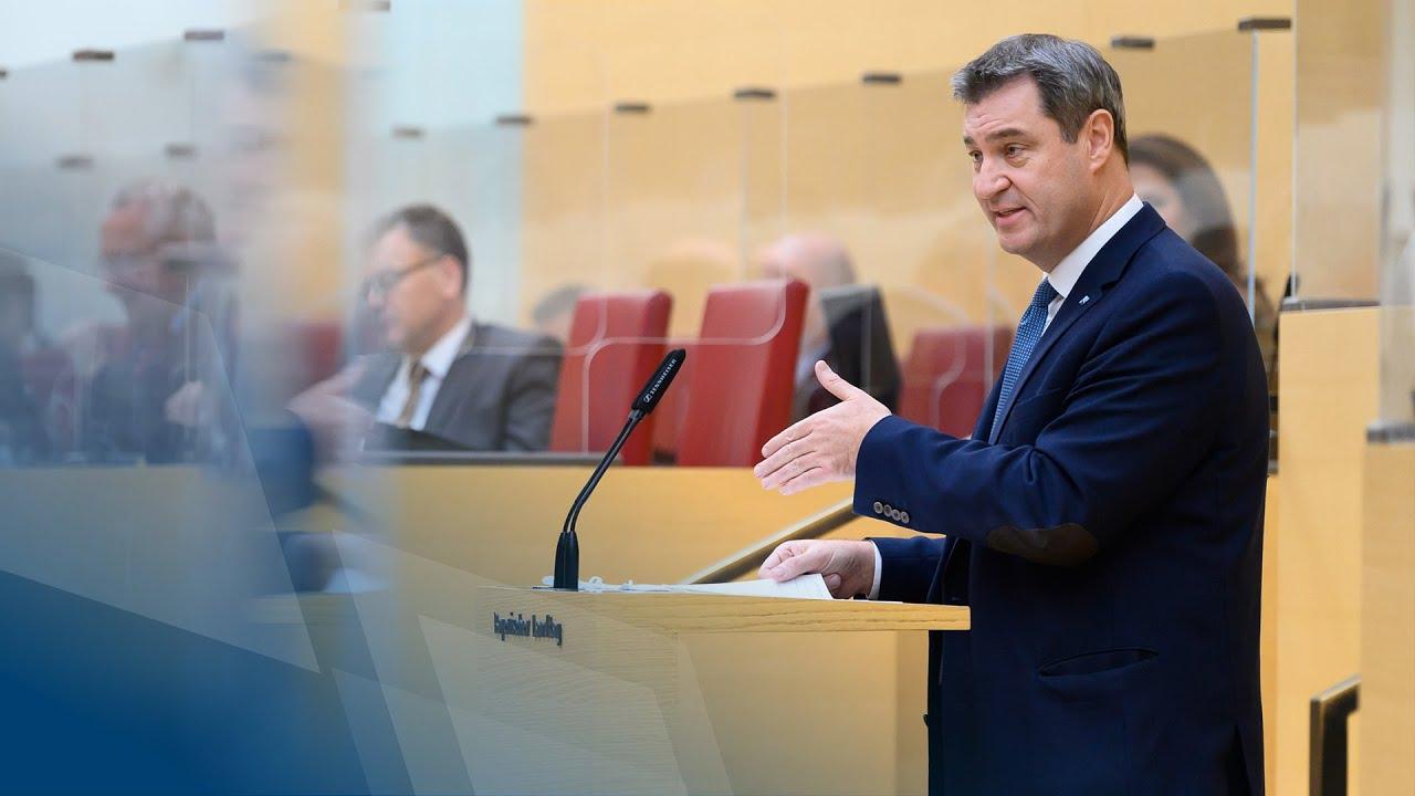 Regierungserklärung zur aktuellen Corona-Lage (27. November 2020) - Bayern