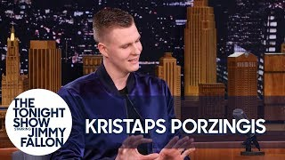 Kristaps Porzingis Was Confused by Kevin Durant