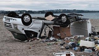 Tourists killed after unprecedented storms wreak havoc in Halkidiki on Greek coast