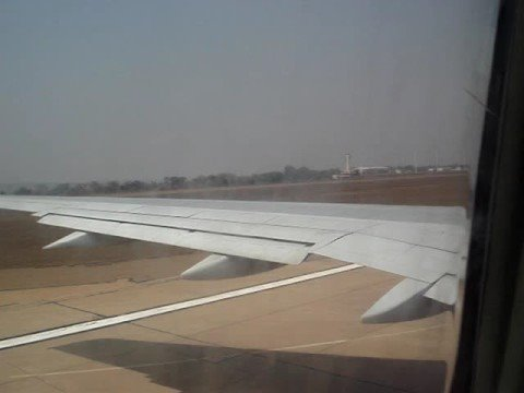 Lilongwe take-off