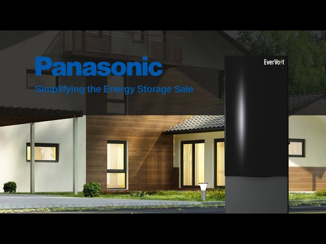 Panasonic | Simplifying the Energy Storage Sale with EverVolt | Presented By Soligent