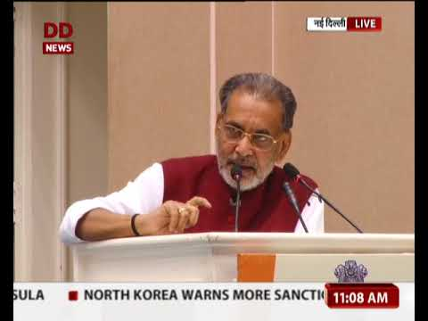 Union Minister of Agriculture speaks at the National Conference for Rabi at Vigyan Bhawan