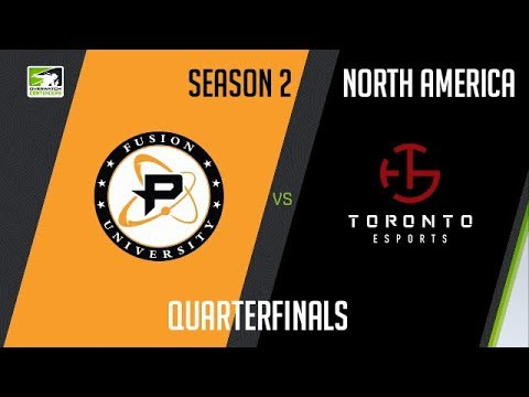 Fusion University vs Toronto Esports vod
