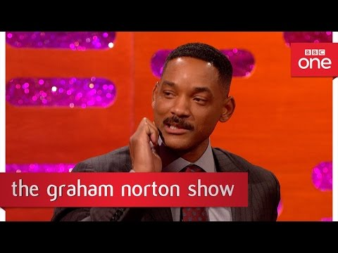 Will Smith suffers from 'dog jaw'  The Graham Norton  2016: Episode 12  BBC One