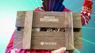 PUBG Xbox One Release Unboxing!