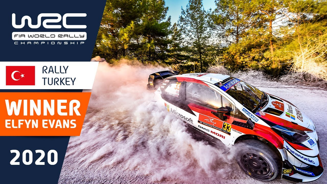 WRC - Rally Turkey 2020: WINNER Elfyn Evans