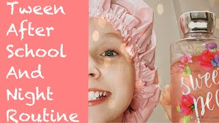 Tween After School And Night Routine!