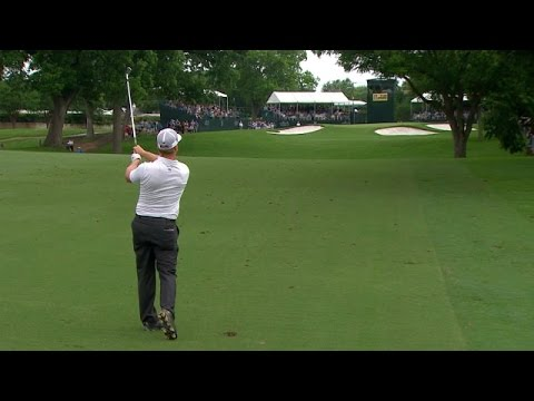 Charley Hoffman's marvelous approach results in birdie at Crowne Plaza