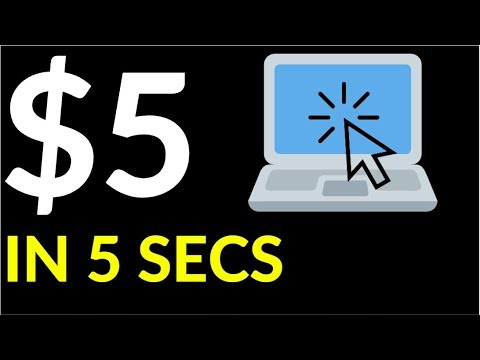 Earn $5 Every 5 Seconds! (Easy Way To Make Money Online)