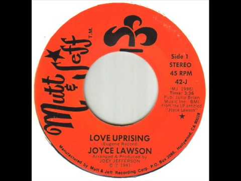 Joyce Lawson Love Uprising