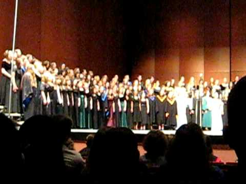 CONCERT - ROSAS PANDAN- NM High School All State Mixed Choir 2009