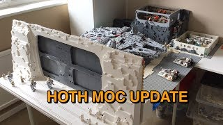 Lego Star Wars Hoth Moc | Ucs Scale Hoth Moc Update Video