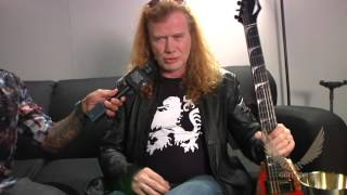 DAVE MUSTAINE with DEAN GUITARS NAMM 2016