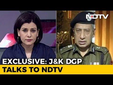 """Blow To Terrorist Leadership In Valley,""  Jammu And Kashmir DGP Tells NDTV"