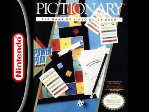 Pictionary Music (NES) - Drawing Game