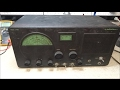 Repair Of A Early 1950's HalliCrafters S-40B Receiver
