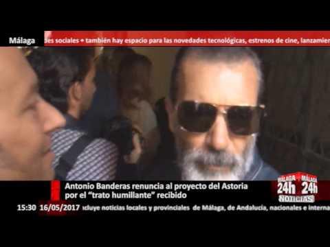 """Antonio Banderas renuncia al proyecto del Astoria por el """"trato humillante"""" recibido - Málaga 24h"""