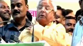 Lalu Yadav Funny Comedy Speech Against Modi | Hilarious Video